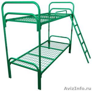 кровати металлические, кровати одноярусные для интернатов, двухъярусные кровати - Изображение #6, Объявление #696147