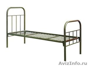 кровати металлические, кровати одноярусные для интернатов, двухъярусные кровати - Изображение #7, Объявление #696147