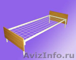 кровати металлические, кровати одноярусные для интернатов, двухъярусные кровати - Изображение #3, Объявление #696147