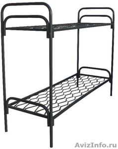 кровати металлические, кровати одноярусные для интернатов, двухъярусные кровати - Изображение #4, Объявление #696147
