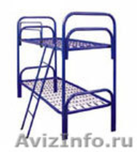 Металлические кровати оптом для рабочих, больницы - Изображение #3, Объявление #906548