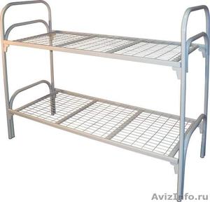 Металлические кровати оптом для рабочих, больницы - Изображение #2, Объявление #906548
