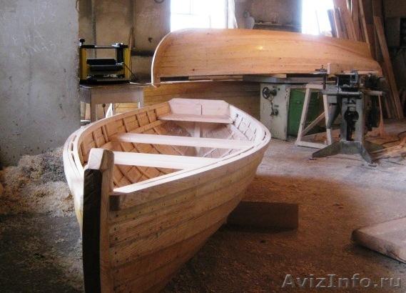 лодки гребные самодельные деревянные