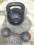 гири24,  32 кг по 1500руб.б/у .гантели литые. разборные