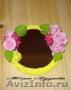Свадебные букеты, цветочные композиции из полимерной глины