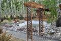 Изделия из дерева (мельницы,  подковы,  подставки для цветов)