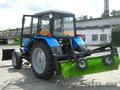 Трактор МТЗ-82 Отвал 2, 5 м.+щётка 2 м.