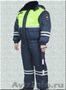 Форма Зимняя Дпс Гибдд Гаи Полиции Всесезонный со Светоотражающей Вставкой Ткань