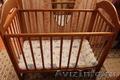 Продам кроватку детскую бежевого цвета, Объявление #1598170